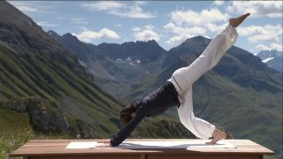 Ralf Bauer's Yoga in the Alps