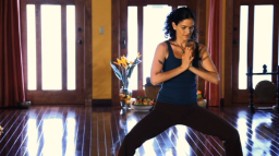 Review of Hala Khouri's Yoga for Stress Reduction