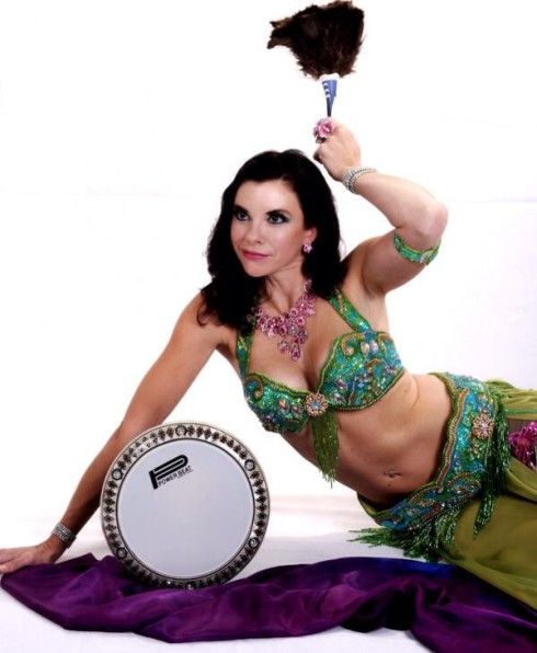 Heather Wayman, bellydancer