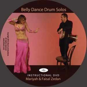 Belly Dance Drum Solo DVD disc