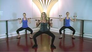 Zayna Gold shows full-body workout