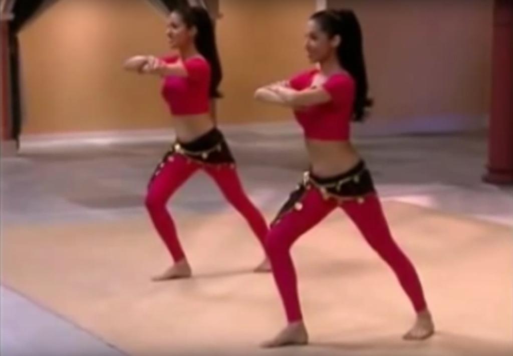 Veena and Neena bellydance