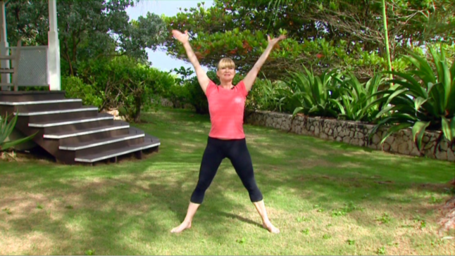 Miranda Esmonde--White doing Classical Stretch standing moves