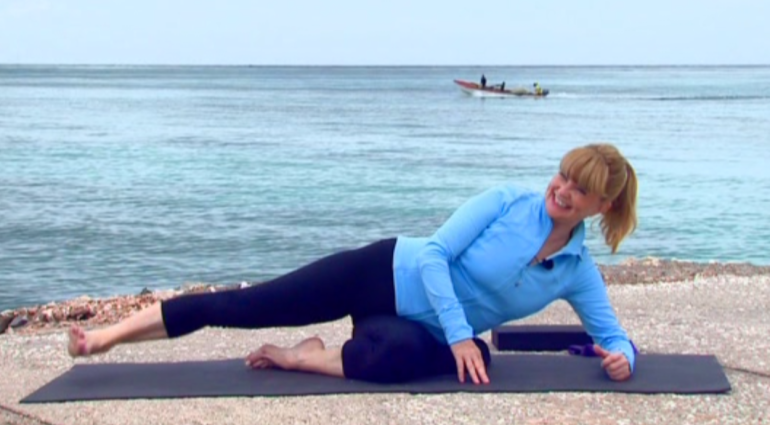 Miranda Esmonde-White doing Classical Stretch