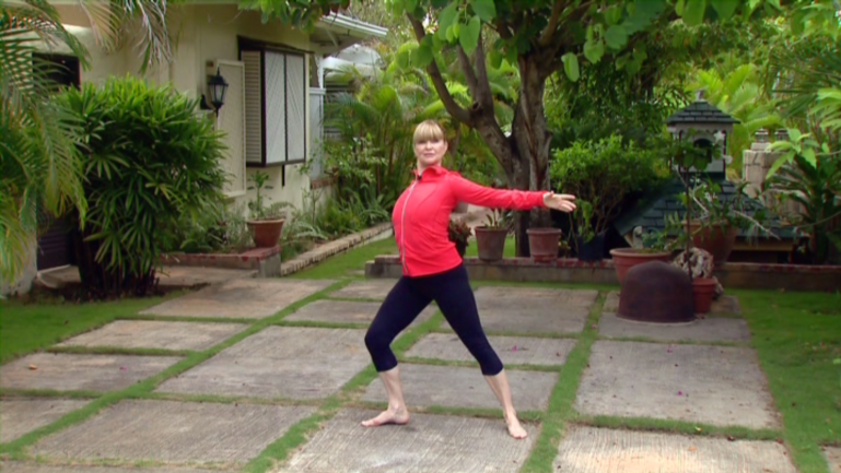 Miranda Esmonde-White does standing work Classical Stretch